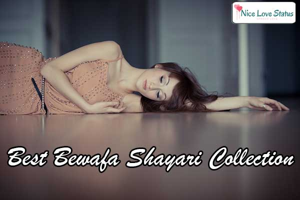 Bewafa Shayari with images in Hindi