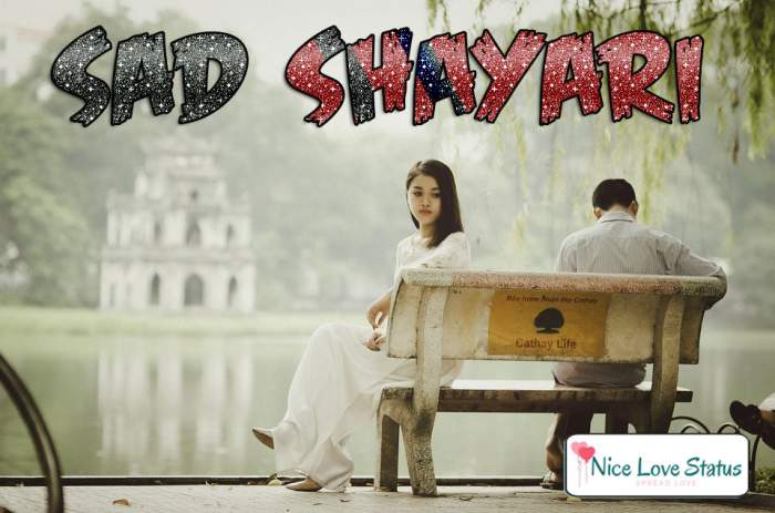 Sad Shayari in Hindi for Facebook